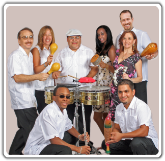 Photo of the Caliente Tropical Band